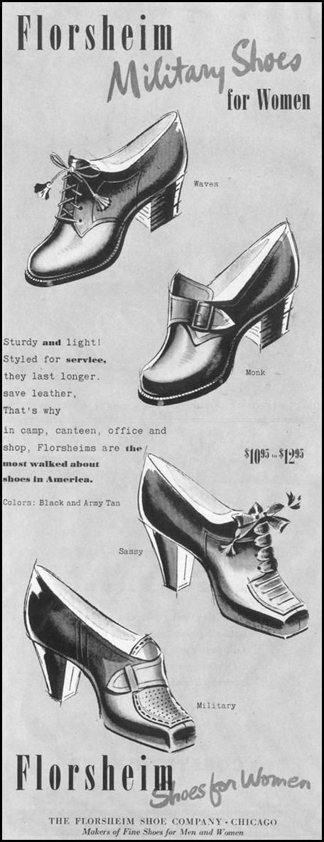 FLORSHEIM SHOES LIFE 11/02/1942 p. 15