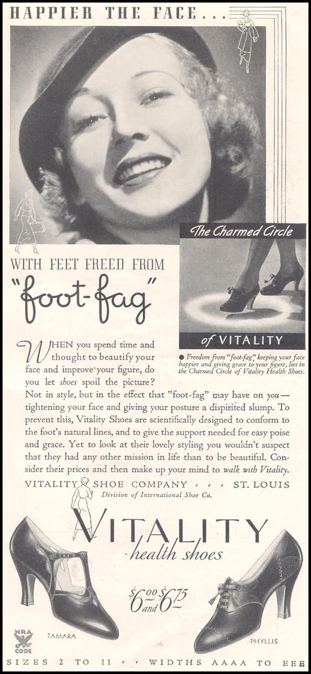 VITALITY HEALTH SHOES GOOD HOUSEKEEPING 03/01/1935 p. 227