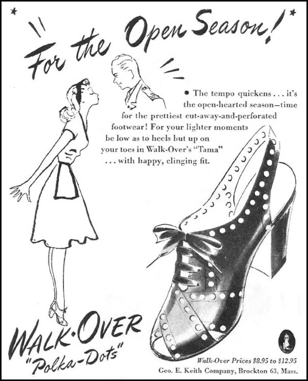 WALK-OVER SHOES LIFE 03/12/1945 p. 108
