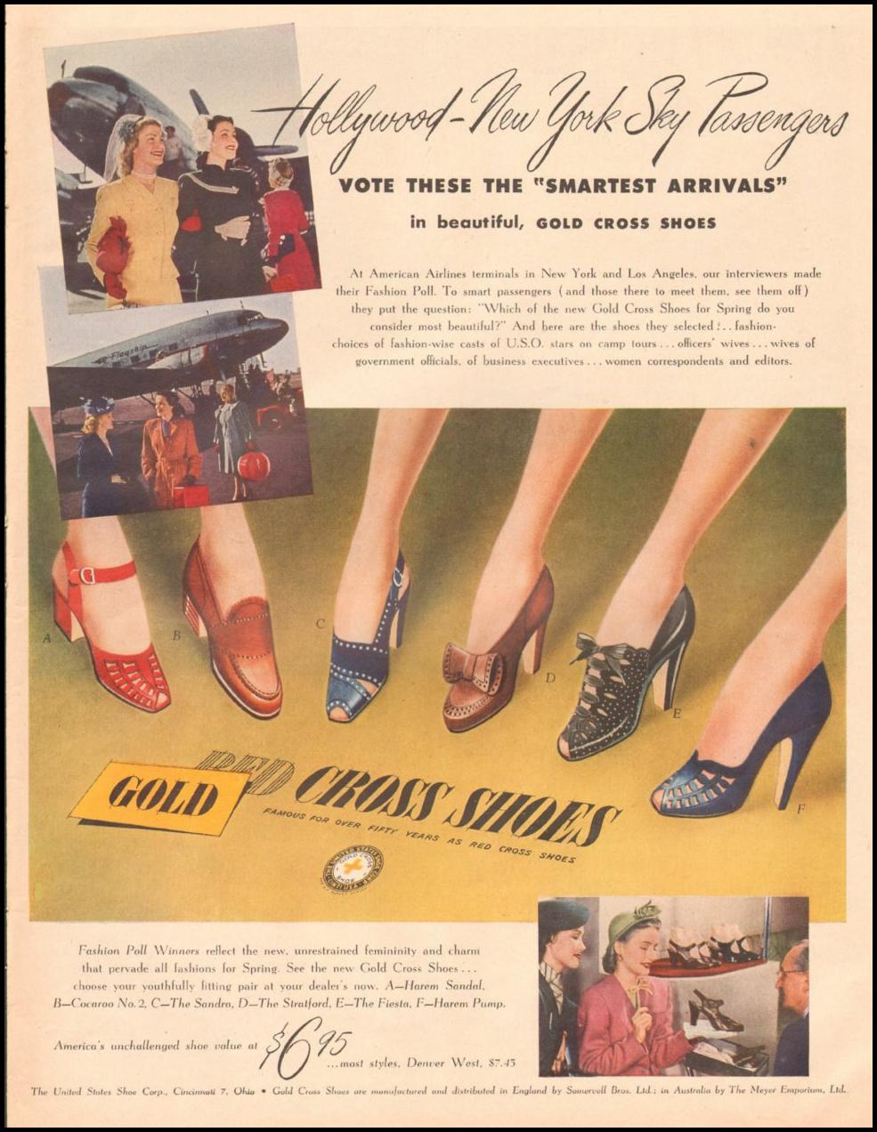 RED CROSS SHOES LIFE 03/12/1945