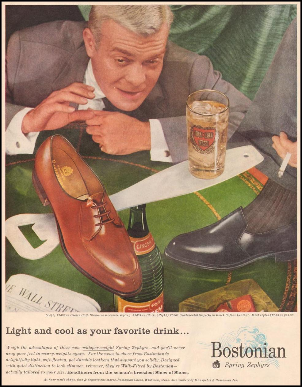 BOSTONIAN SPRING ZEPHYR SHOES LIFE 04/01/1957 p. 93