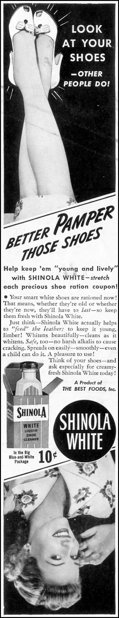 SHINOLA SHOE POLISH LIFE 05/24/1943 p. 98
