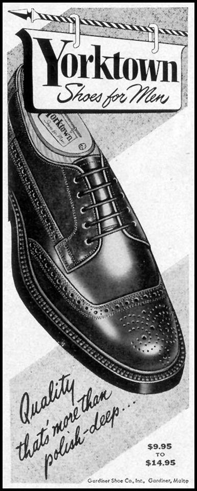YORKTOWN SHOES FOR MEN LIFE 09/07/1953 p. 116