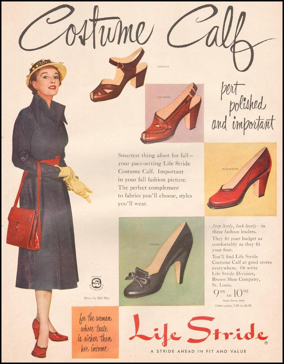 LIFE STRIDE SHOES LIFE 10/01/1951