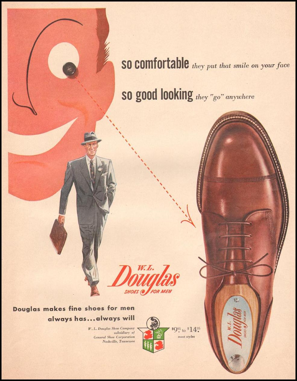 DOUGLAS SHOES FOR MEN LIFE 10/01/1951