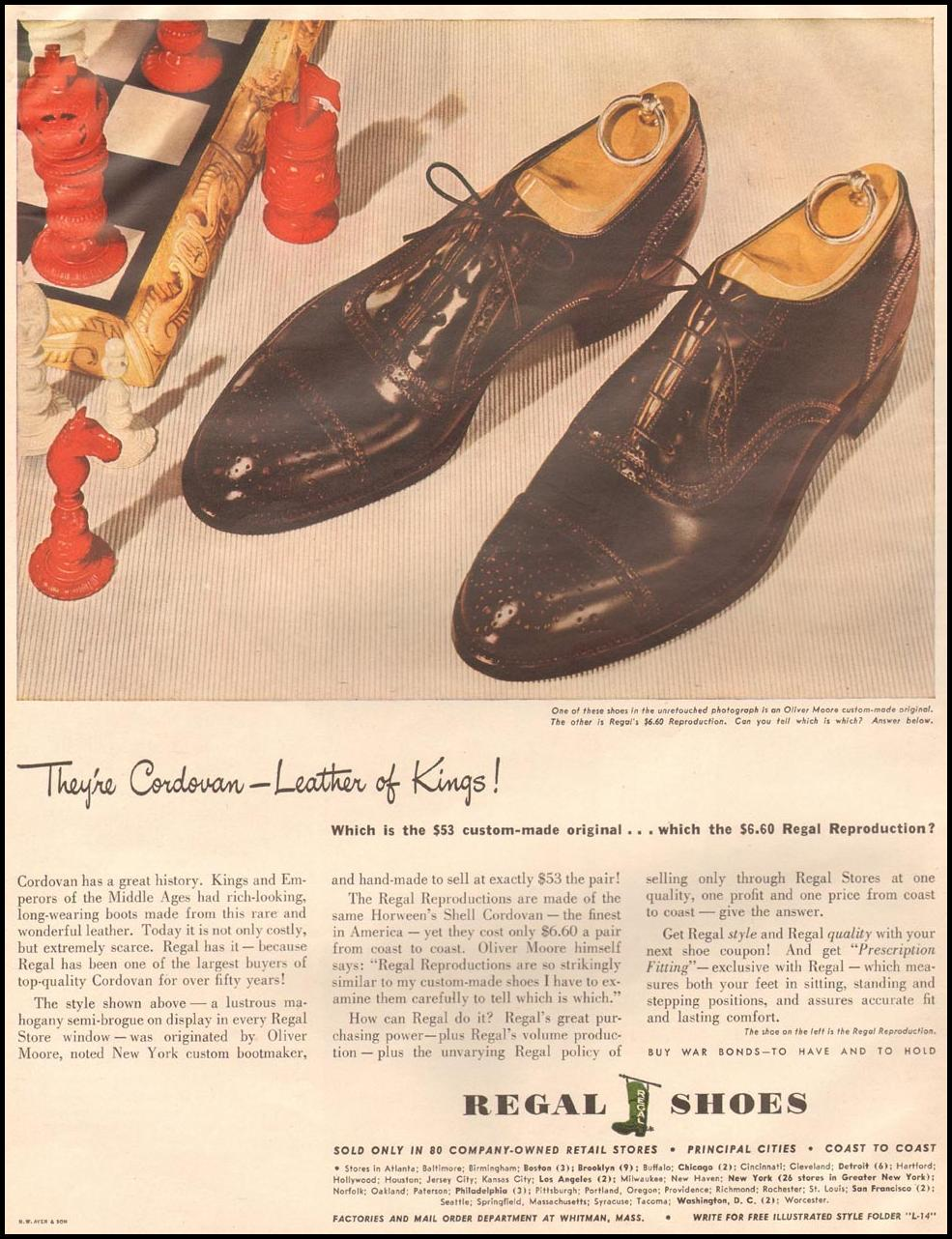 REGAL SHOES LIFE 10/23/1944