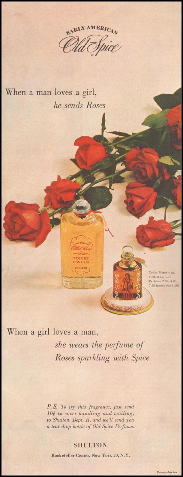 OLD SPICE PERFUME LADIES' HOME JOURNAL 07/01/1949 p. 146