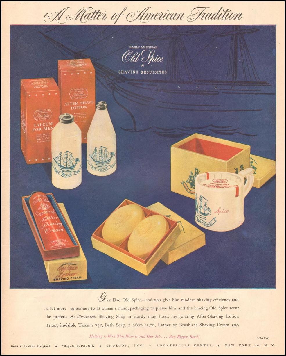OLD SPICE FOR MEN LIFE 06/04/1945