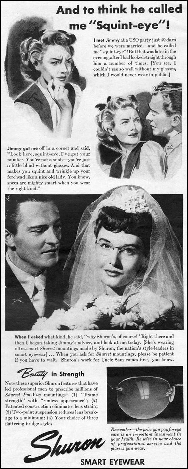 SHURON EYEWEAR LIFE 10/11/1943 p. 15