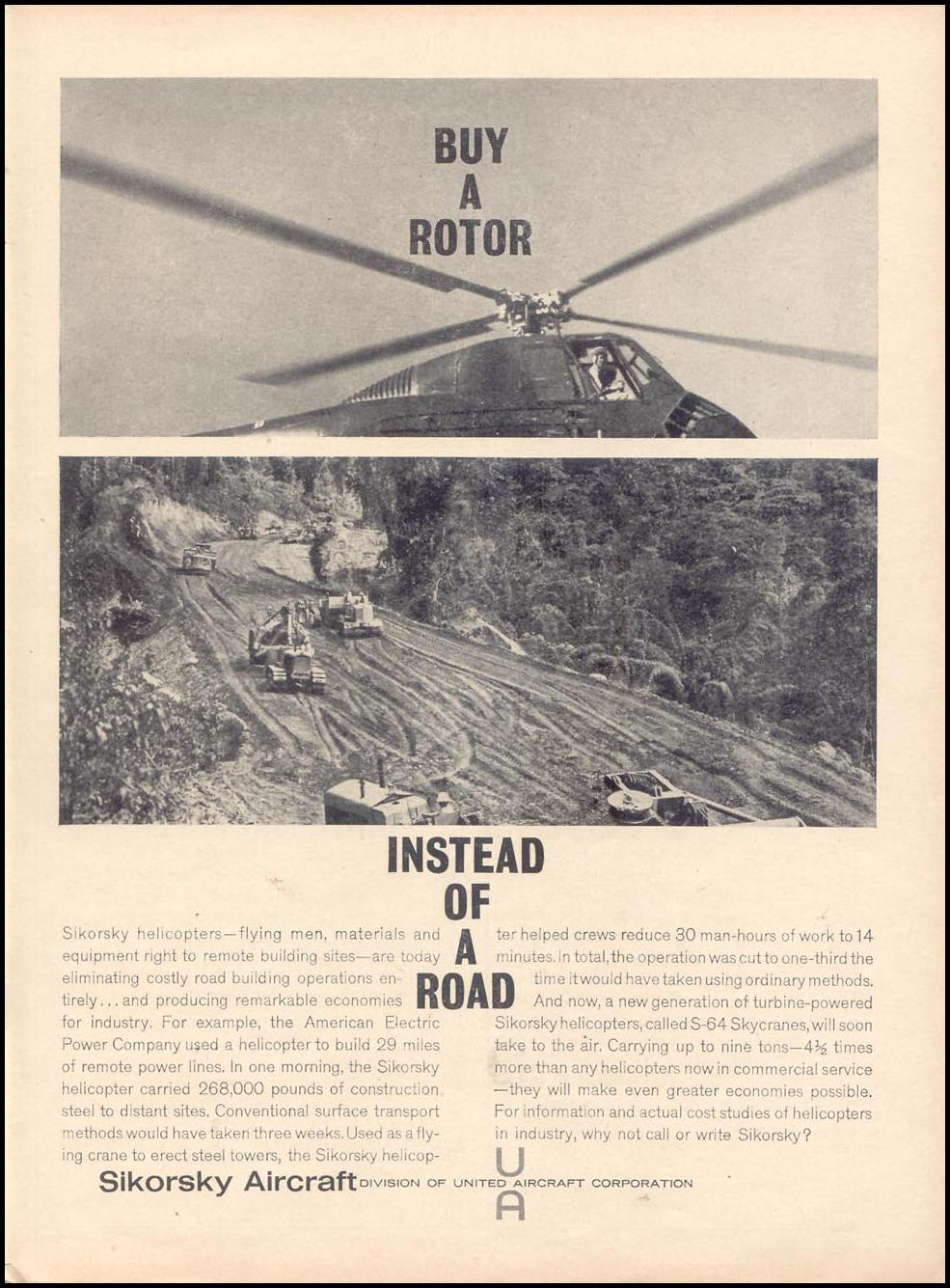 SIKORSKY HELICOPTERS TIME 11/17/1961