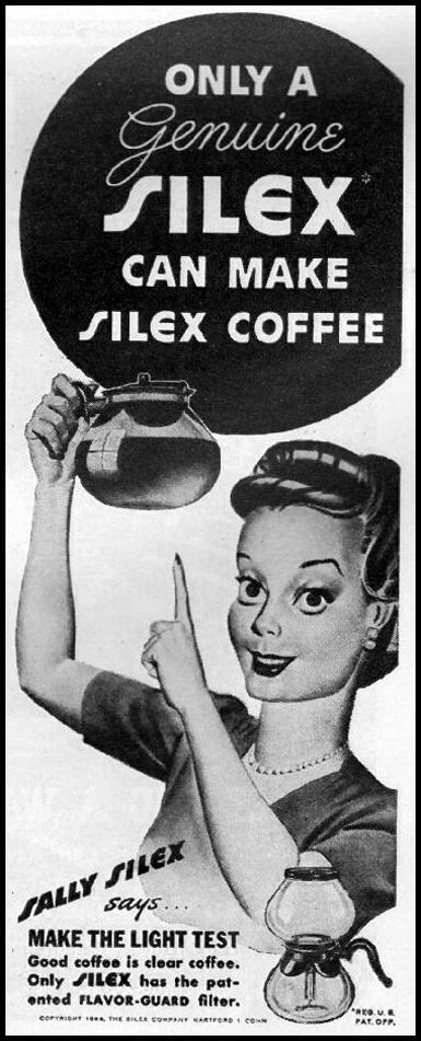SILEX COFFEE MAKERS LIFE 10/23/1944 p. 112