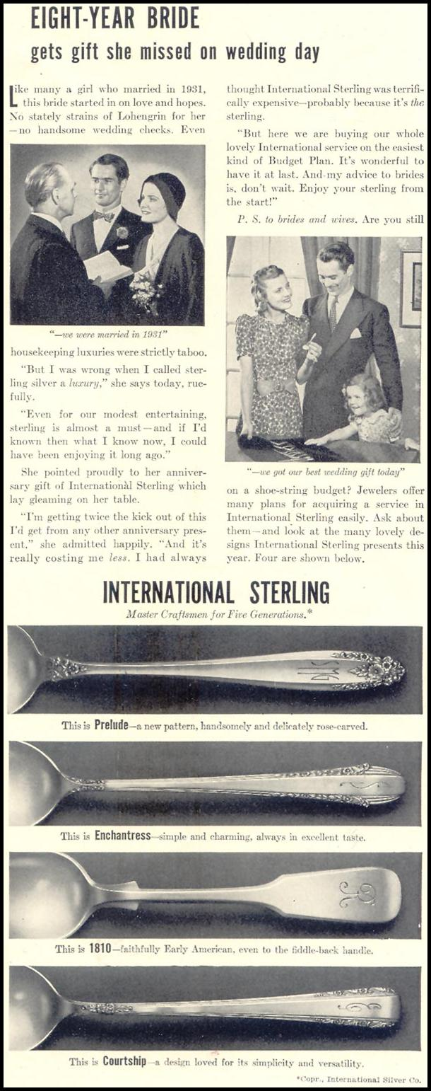 INTERNATIONAL STERLING PLACE SETTINGS LIFE 07/24/1939 p. 7