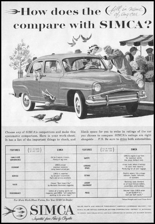 SIMCA AUTOMOBILES LIFE 02/02/1959 p. 13