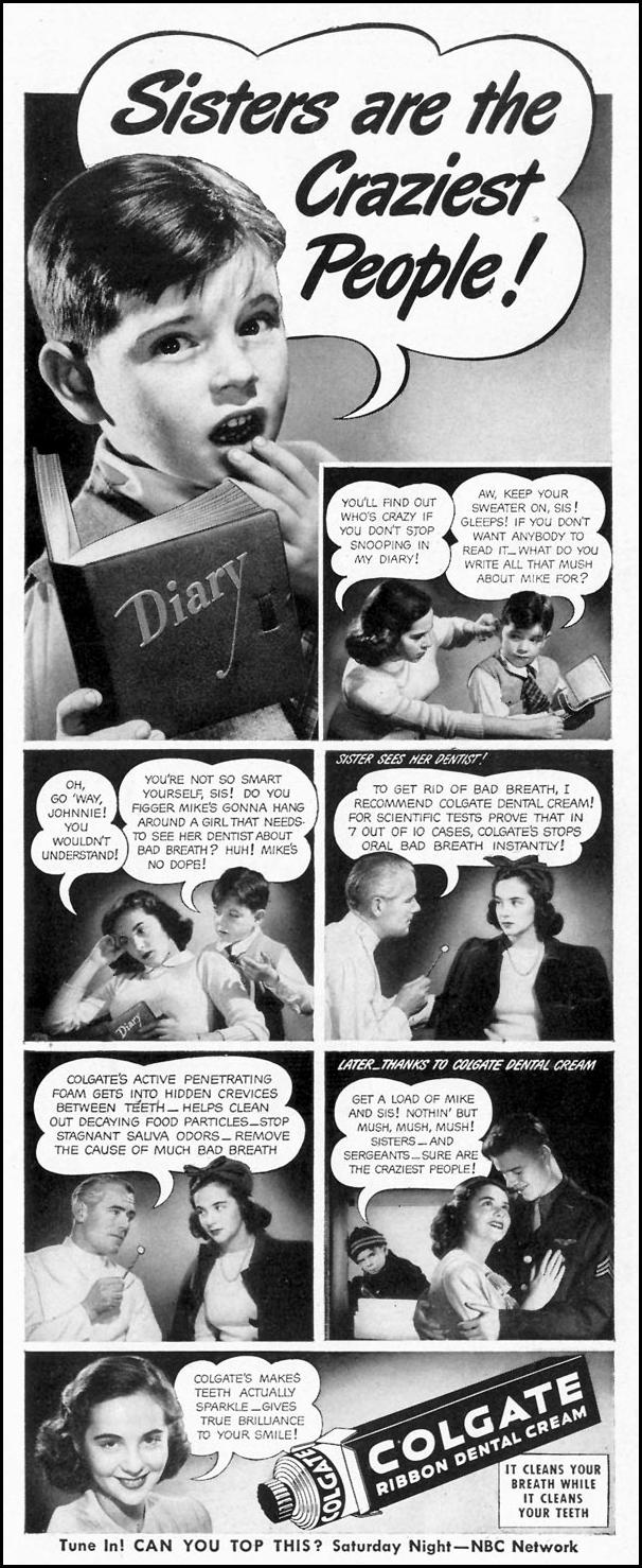 COLGATE DENTAL CREAM LIFE 02/28/1944 p. 15