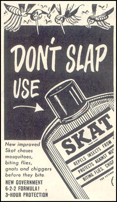 SKAT INSECT REPELLENT GOOD HOUSEKEEPING 07/01/1948 p. 174