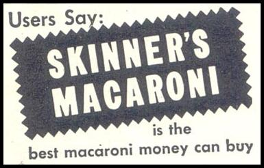 SKINNER'S MACARONI GOOD HOUSEKEEPING 07/01/1948 p. 120