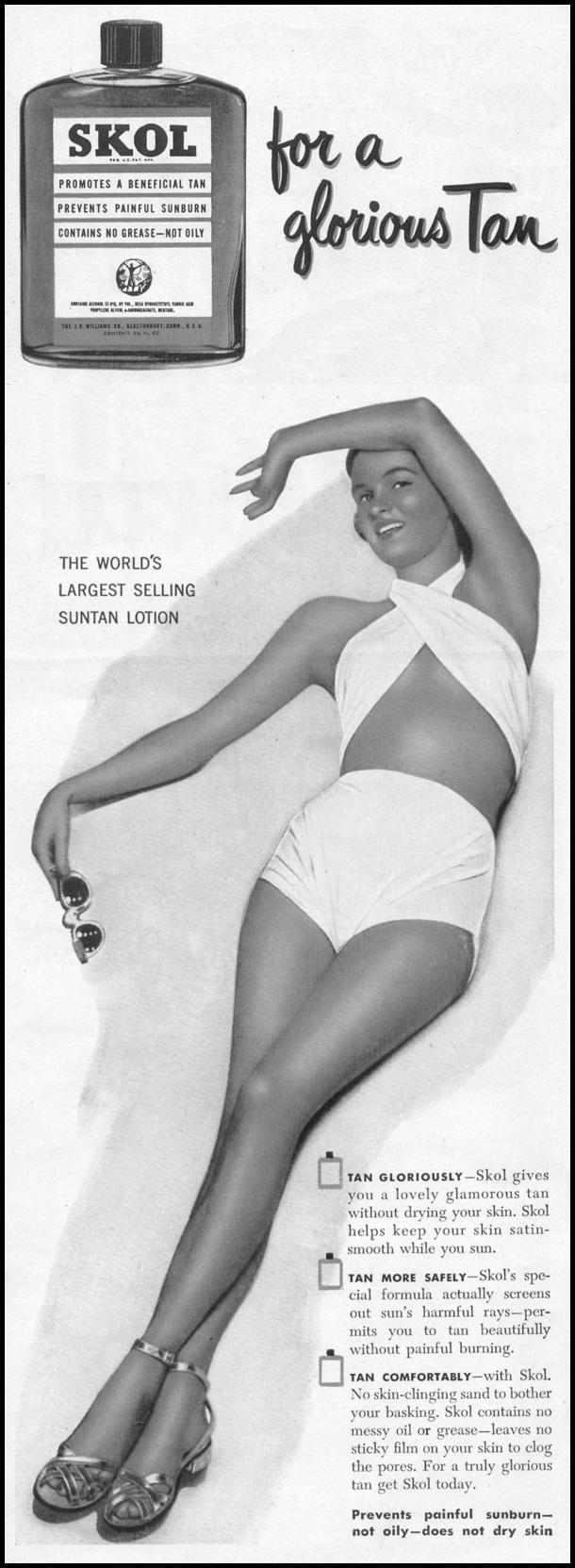 SKOL SUNTAN LOTION LIFE 06/05/1950 p. 8