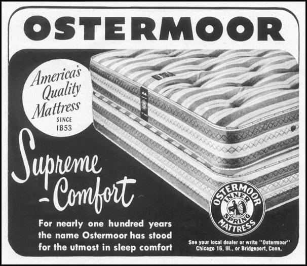 OSTERMOOR INNER SPRING MATTRESS LIFE 06/16/1952 p. 98