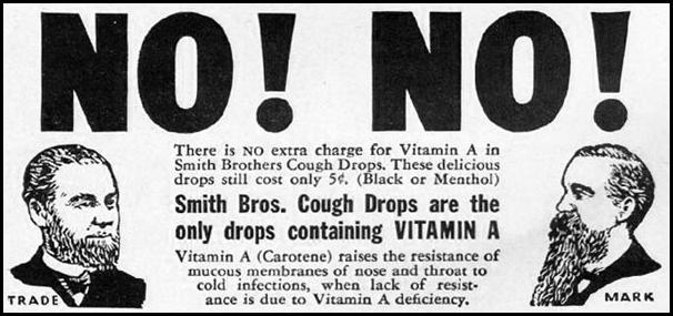 SMITH BROS. COUGH DROPS LIFE 12/16/1940 p. 104