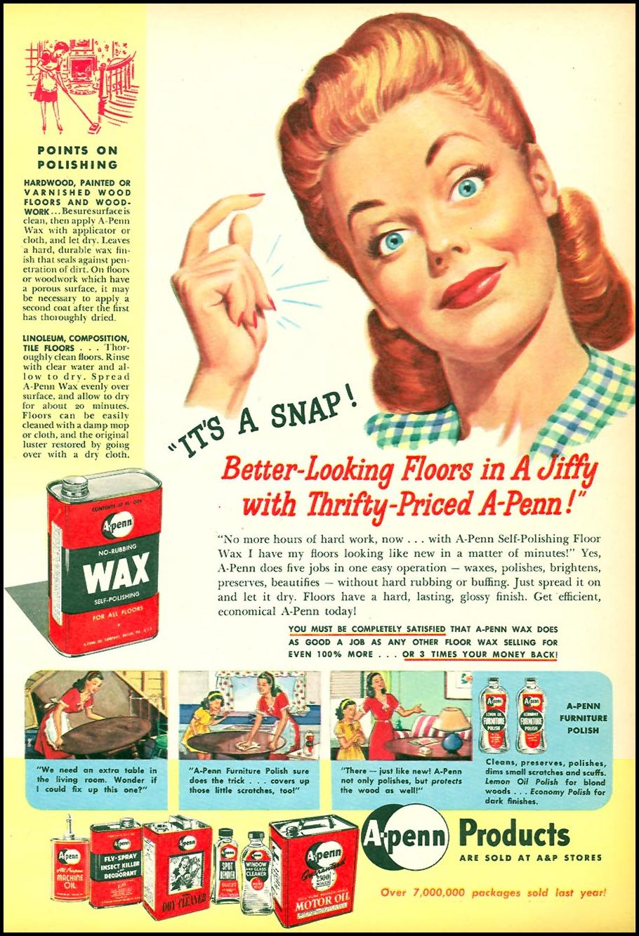A-PENN PRODUCTS WOMAN'S DAY 05/01/1946