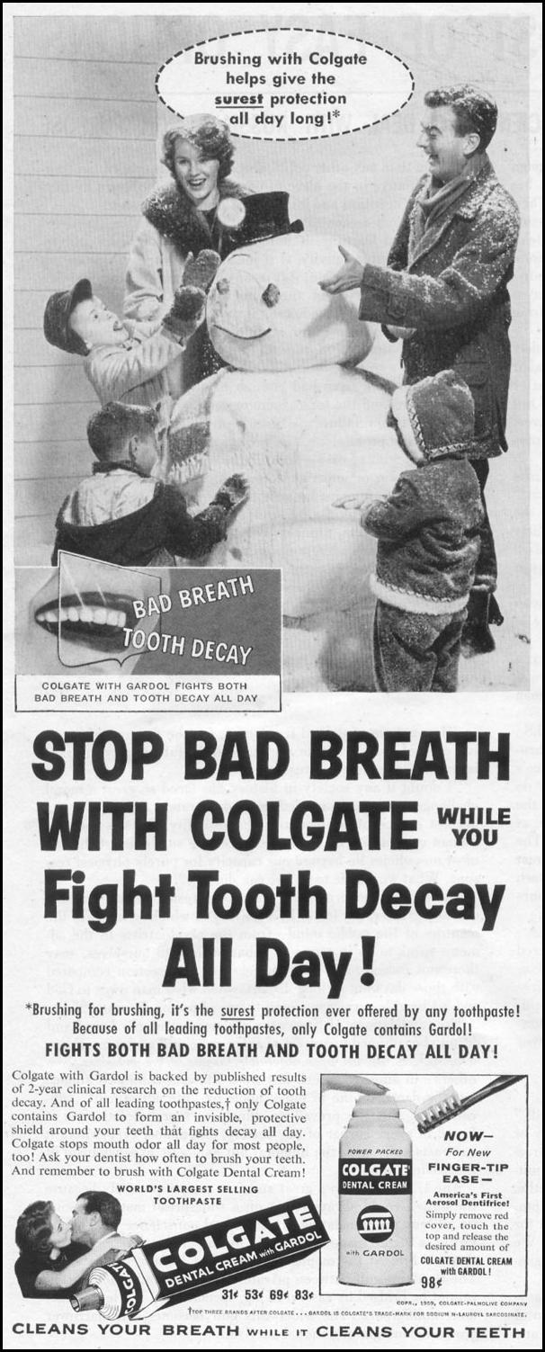 COLGATE DENTAL CREAM LIFE 02/09/1959 p. 32