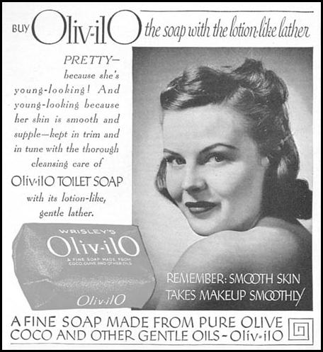 WRISLEY'S OILV-ILO WOMAN'S DAY 04/01/1943 p. 68