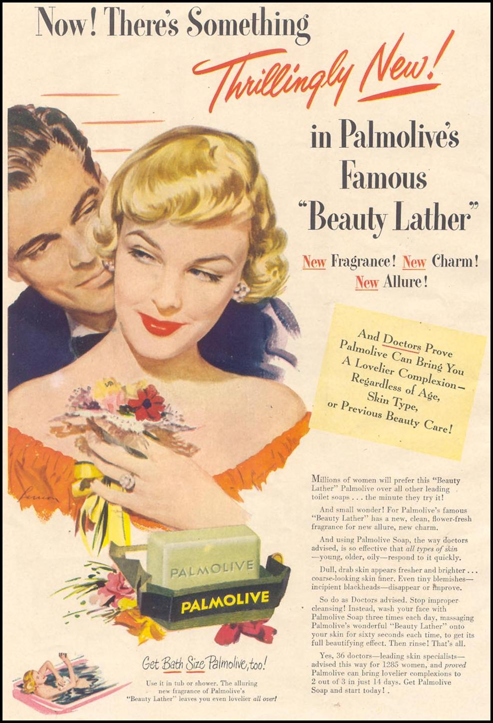 PALMOLIVE SOAP GOOD HOUSEKEEPING 07/01/1949 p. 24