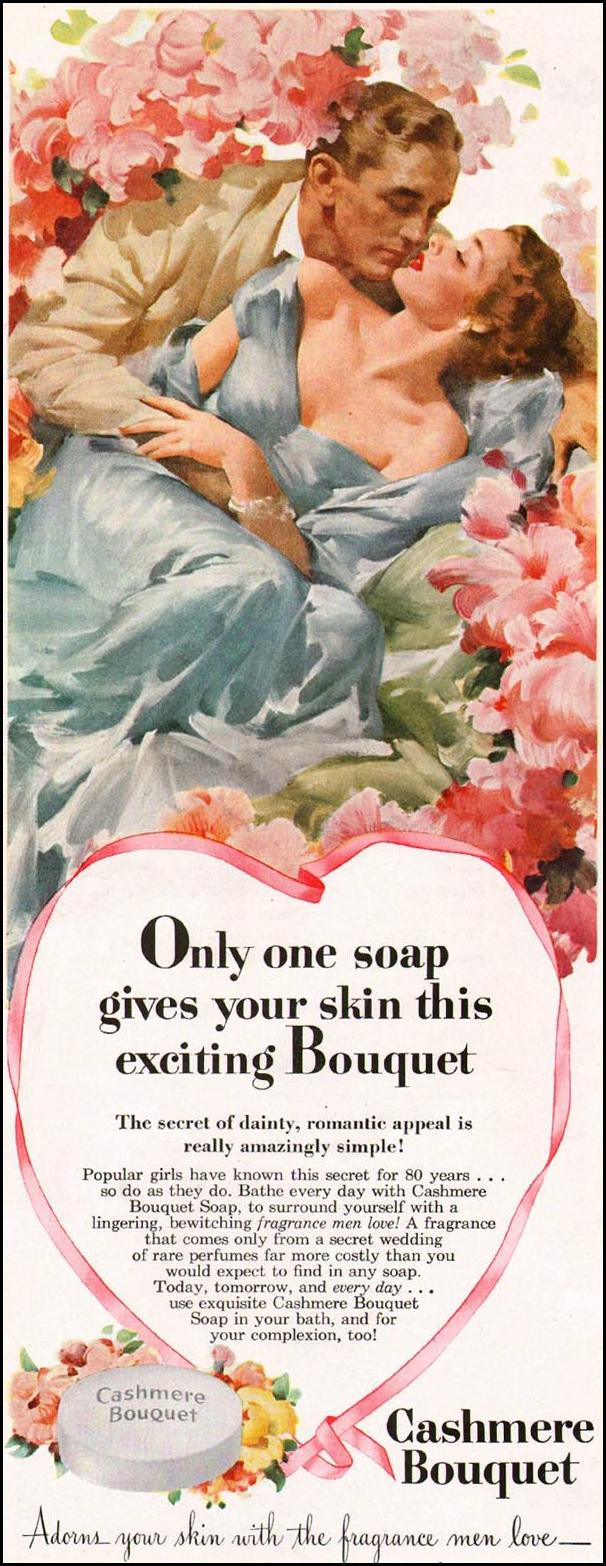 CASHMERE BOUQUET SOAP LADIES' HOME JOURNAL 07/01/1949 p. 78