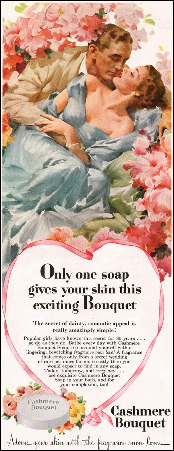 CASHMERE BOUQUET SOAP LADIES' HOME JOURNAL 07/01/1949 p. 78
