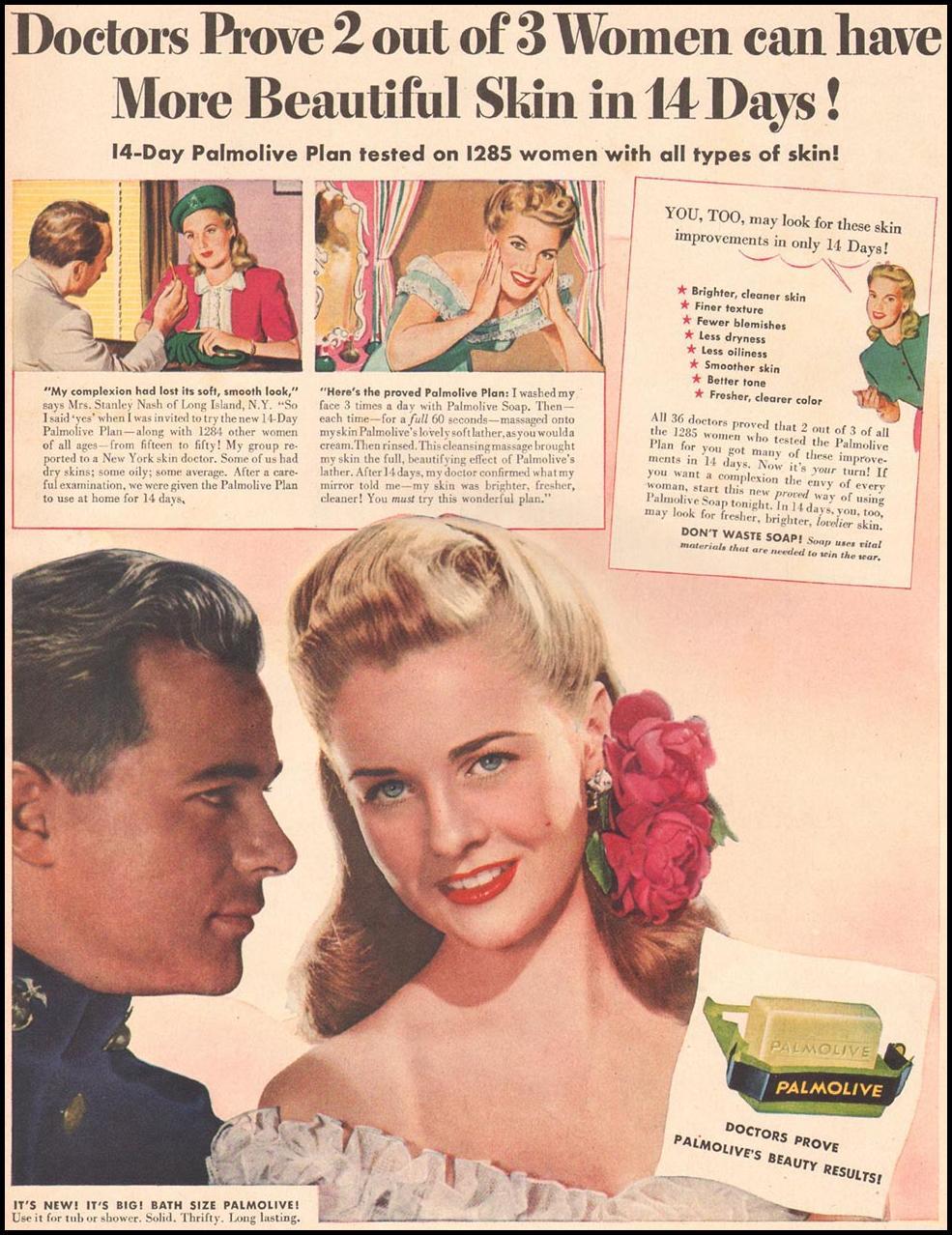 PALMOLIVE SOAP LIFE 11/13/1944