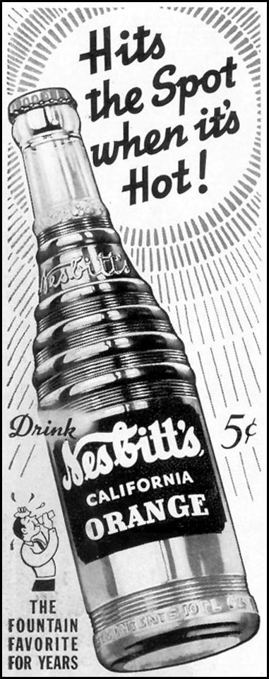 NESBITT'S ORANGE SODA LIFE 06/23/1941 p. 78