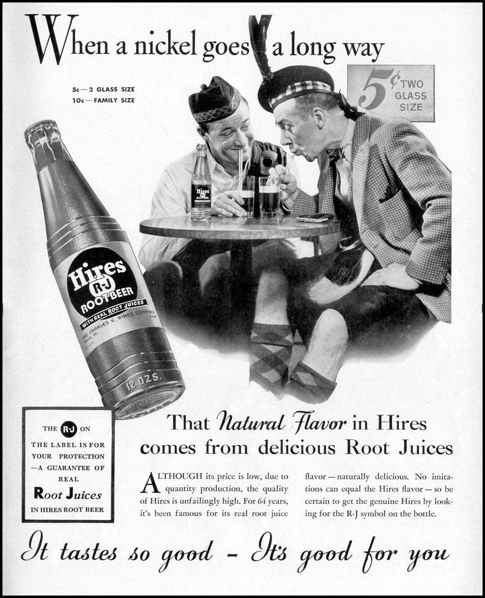 HIRES ROOT BEER LIFE 07/26/1937 p. 15