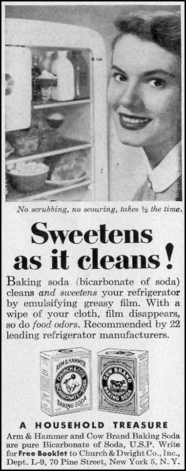 ARM & HAMMER BAKING SODA LIFE 09/07/1953 p. 104