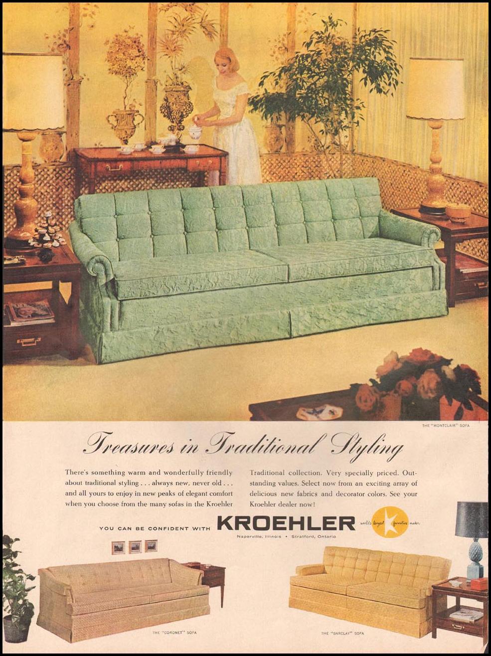 KROEHLER SOFAS LIFE 10/05/1959