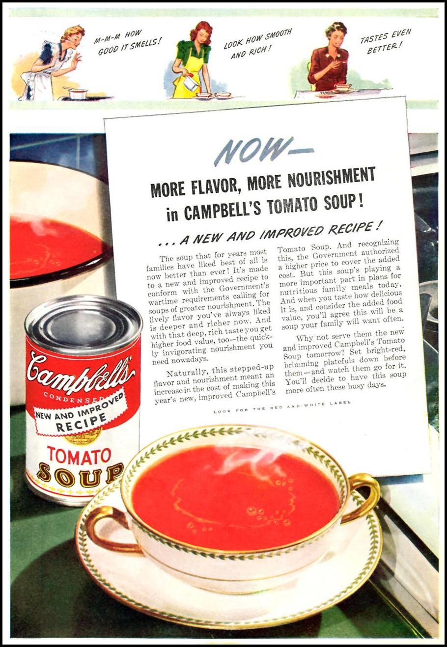 CAMPBELL'S TOMATO SOUP TIME 12/28/1942 p. 25