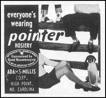 POINTER HOSIERY LIFE 04/08/1957 p. 142