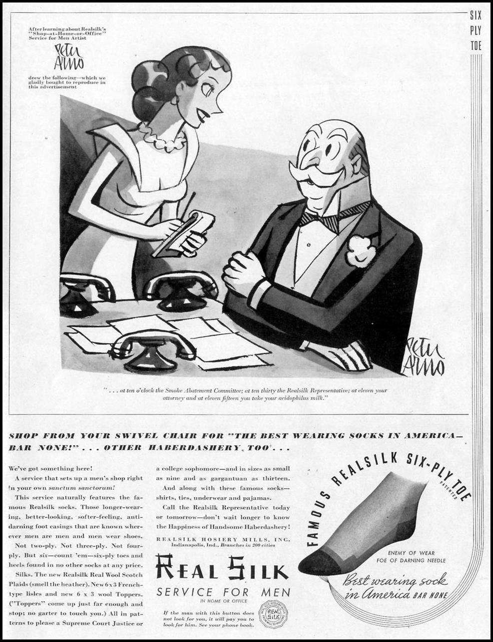 REALSILK SOCKS LIFE 09/20/1937 p. 95