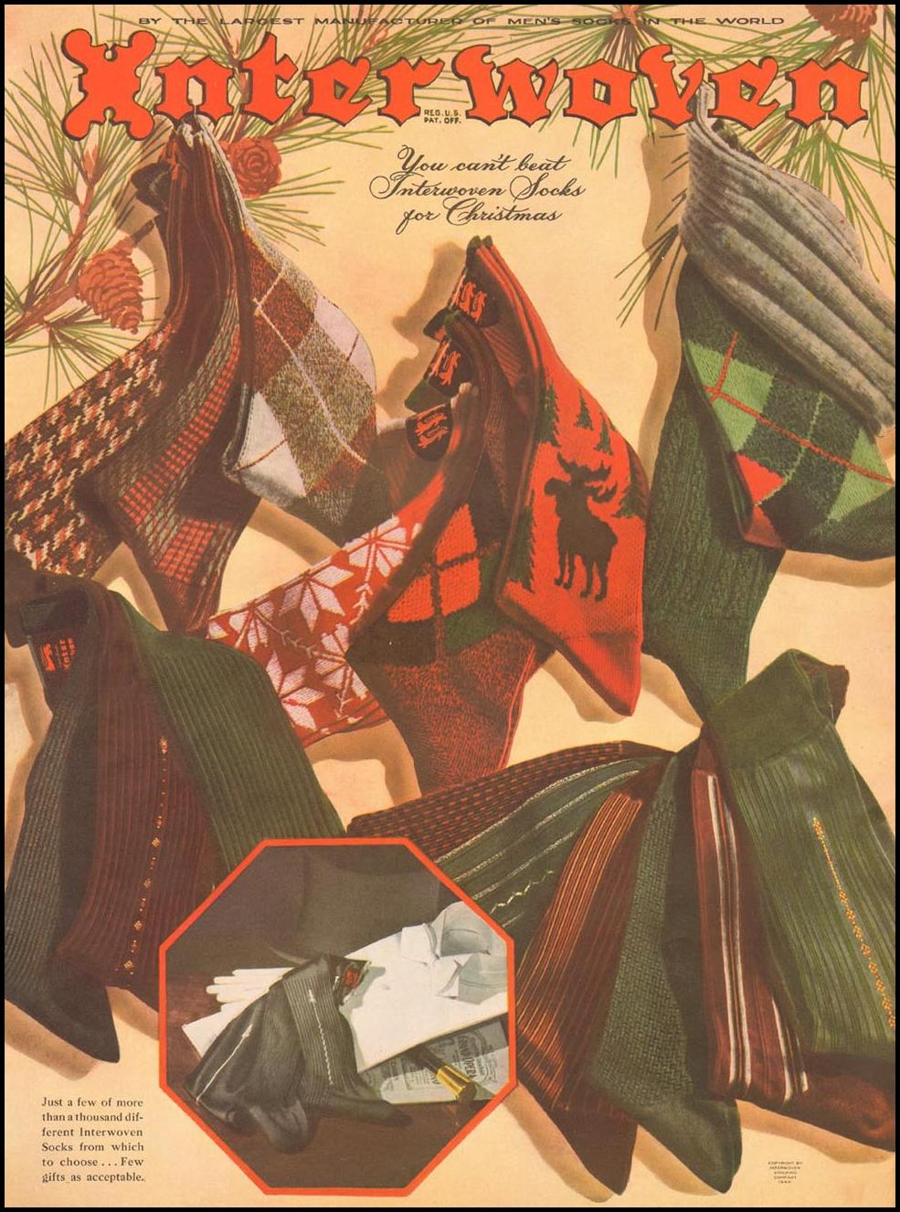 INTERWOVEN SOCKS LIFE 12/16/1940 p. 37