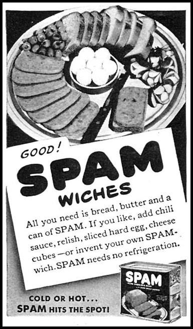 SPAM WOMAN'S DAY 06/01/1943 p. 54