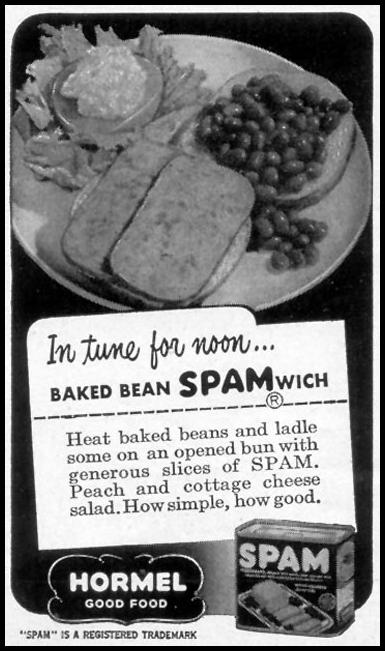 SPAM WOMAN'S DAY 06/01/1949 p. 102