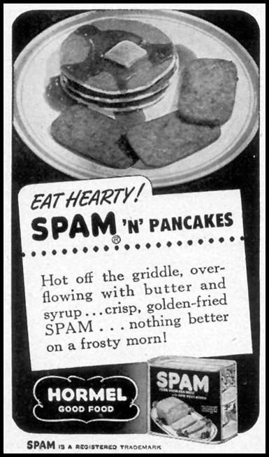 SPAM WOMAN'S DAY 08/01/1948 p. 90