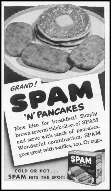 SPAM WOMAN'S DAY 09/01/1942 p. 70