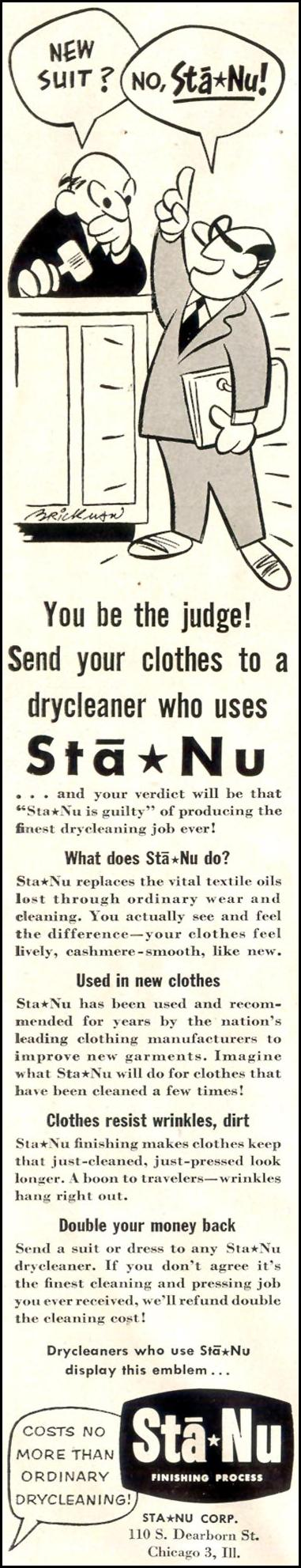 STA-NU FINISHING PROCESS LIFE 08/17/1953 p. 88