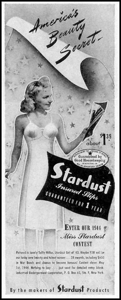 STARDUST INSURED SLIPS LIFE 02/21/1944 p. 24