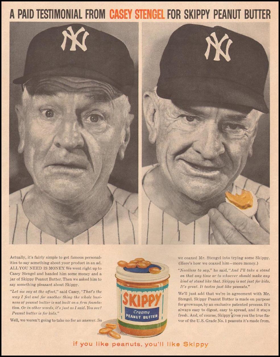 SKIPPY PEANUT BUTTER LIFE 10/05/1959