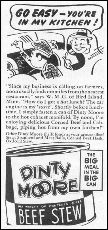 DINTY MOORE BEEF STEW WOMAN'S DAY 10/01/1939 p. 44