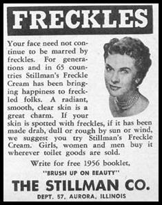 STILLMAN'S FRECKLE CREAM PHOTOPLAY 08/01/1956 p. 91