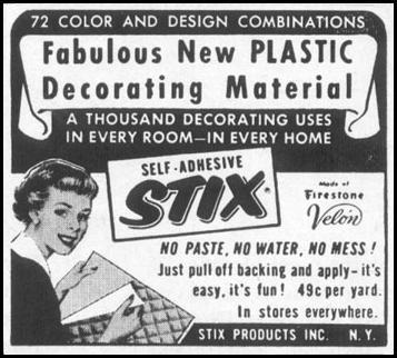 SELF-ADHESIVE STIX LIFE 04/08/1957 p. 142