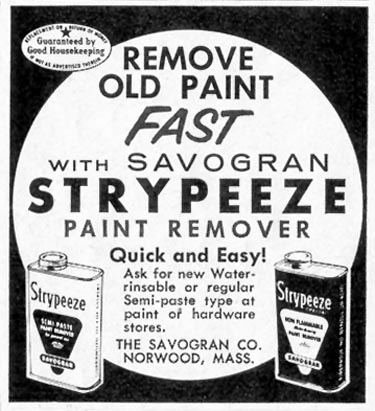 SAVOGRAN STRYPEEZE SATURDAY EVENING POST 08/15/1959 p. 83