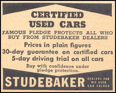 STUDEBAKER CERTIFIED USED CARS LIBERTY 08/08/1936 p. 35